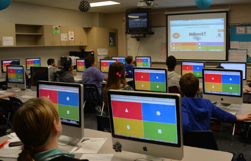 kahoot in action